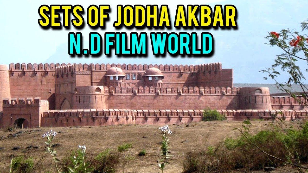 Jodha Akbar Movie Set | Hindi Movie | Hritik Roshan & Aishwarya Rai