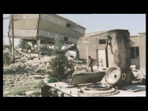 Iran Iraq war | Iraqi Military | Iranian Village | Middle East | TV Eye | 1980