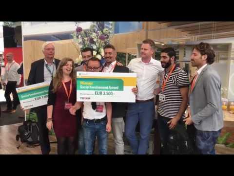 Social Involvement Award 2017 winner: krachtstation PROVADA ABN AMRO