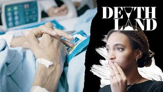 What does it feel like to know you're dying? in episode two of death land, leah green meets people who are facing up the end their lives. she follows p...
