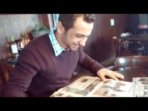 Nizar finds out his photo is in the Metro newspaper.