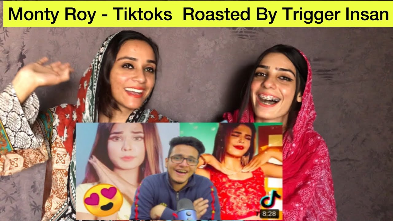 Monty Roy - Tiktoks Most Beautiful Girl Ya Sirf Ek Dhoka? | Pakistani Reaction | Magisco Seher Nayab