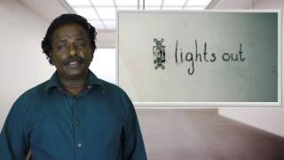 Lights Out Movie Review - Tamil Talkies