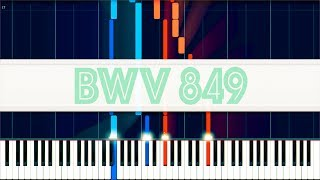 Prelude and Fugue in C-sharp minor, WTC I, BWV 849 // J. S. Bach