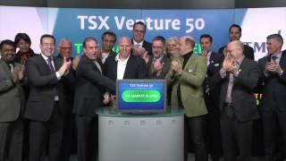 TSX Venture 50 opens TSX Venture Exchange, February 26, 2016