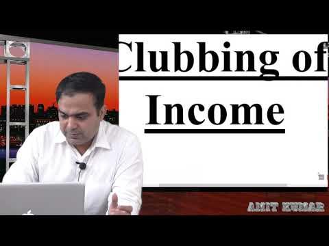 clubbing of income part 1