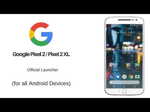 Google Pixel 2 / XL Launcher apk   With widget included