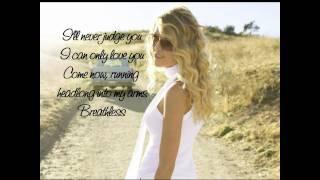 Taylor Swift - Breathless (with lyrics)