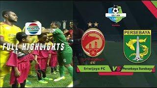SRIWIJAYA FC (3) vs (3) PERSEBAYA SURABAYA - Full Highlight | Go-Jek Liga 1 bersama Bukalapak