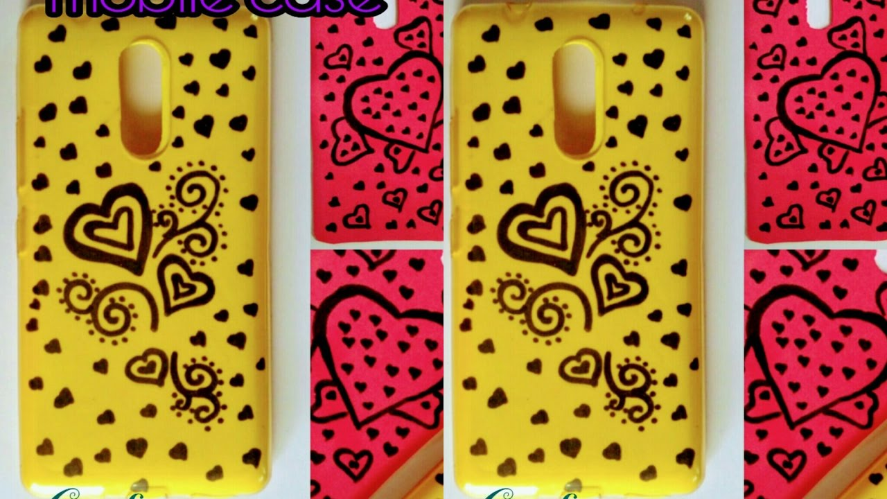 sports shoes 8621a 8a330 DIY PHONE CASE IDEAS/SIMPLE AND EASY(cute)phone case DIY design by crafty  delightz
