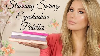 TOP 5 EYESHADOW PALETTES FOR SPRING 2020🌸 Affordable and High End