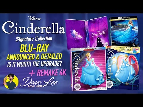CINDERELLA: DISNEY SIGNATURE COLLECTION - Blu-ray Announced & Detailed (Is It Worth The Upgrade?)