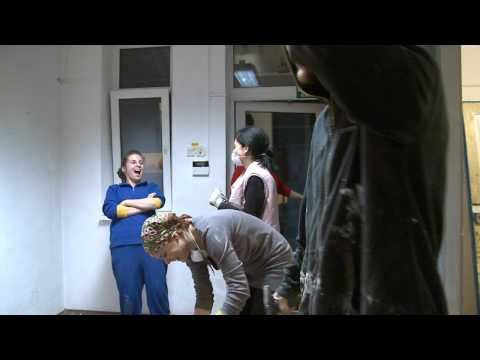 Office Depot Romania charity action: AFR's Center Extreme Makeover
