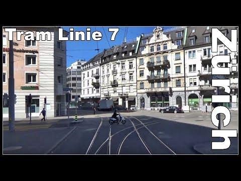 Bahnhof Zürich Enge - HB Zürich (Tram 7)