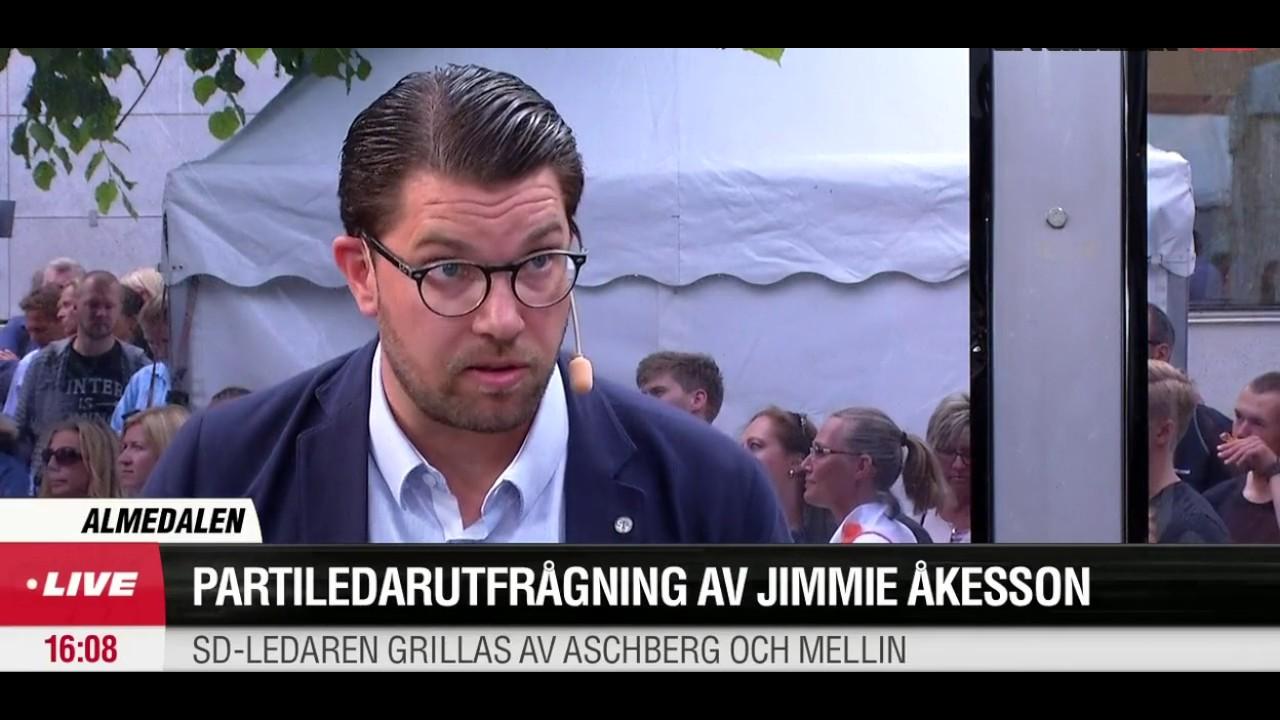 Jimmie akesson almedalen 2017