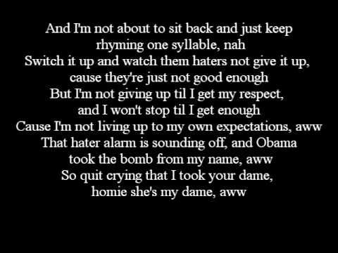 Eminem - Recovery - 08. Seduction Lyrics