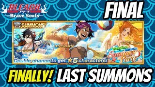 Finally! Last Summons On Vacation Summons Summer Party! | Bleach Brave Souls