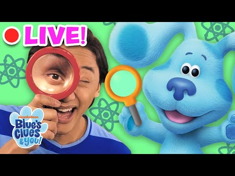 🔴LIVE: Science Experiments VLOGS With Josh & Blue! 🧪  | Blue's Clues & You!