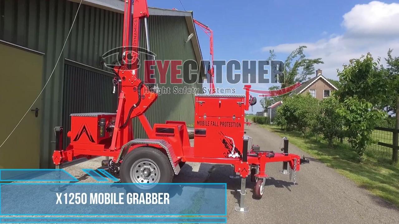 Mobiele Valbeveiliging - Eyecatcher - X1250 Mobile Grabber