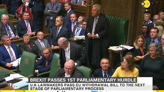 Brexit passes 1st parliamentary hurdle