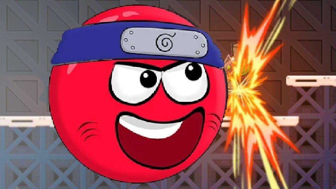 Ниндзя Красный Шарик - Серия 10 (Уровни 24-25-26)