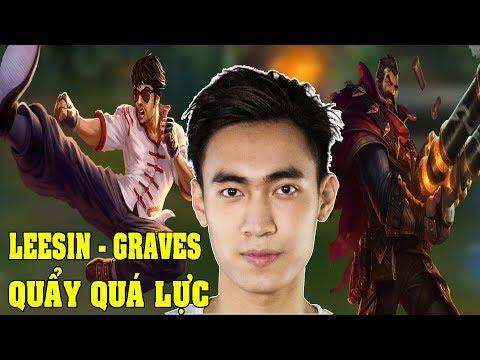 GAM Levi (17/12/2017) Levi quẩy tướng tủ Leesin, Graves quá lực