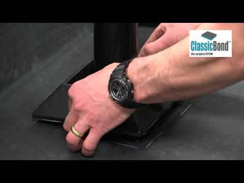 Installing ClassicBond ® EPDM Pipe Box Pocket Using Pourable Sealer