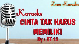 Gambar cover KARAOKE CINTA TAK HARUS MEMILIKI (ST12)