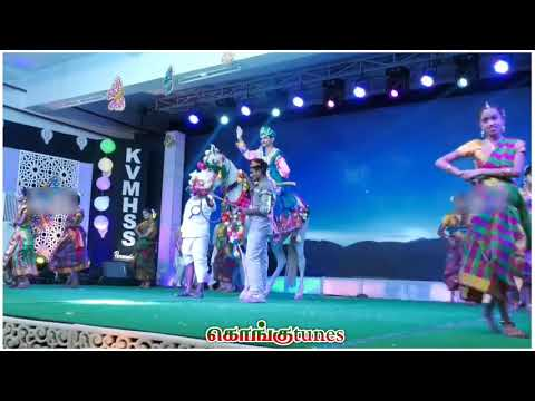 Dheeran Chinnamalai Song || Kongu Kids Dance Performance