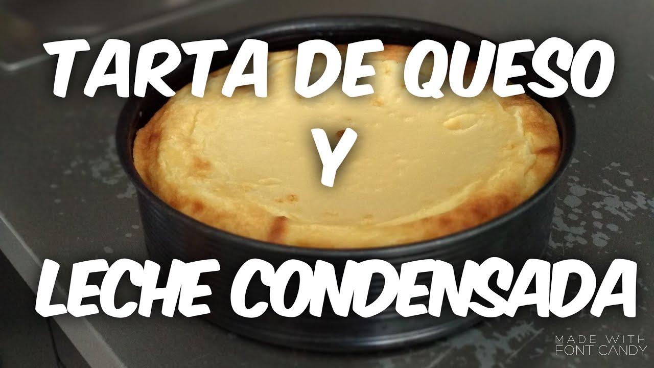 tarta de queso philadelphia fria con leche condensada