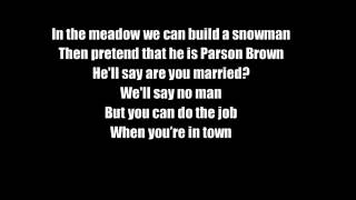 Lady Gaga ft. Tony Bennett Winter Wonderland Lyrics