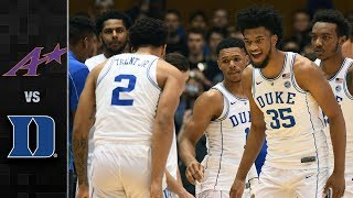Evansville vs. Duke Basketball Highlights (2017-18)