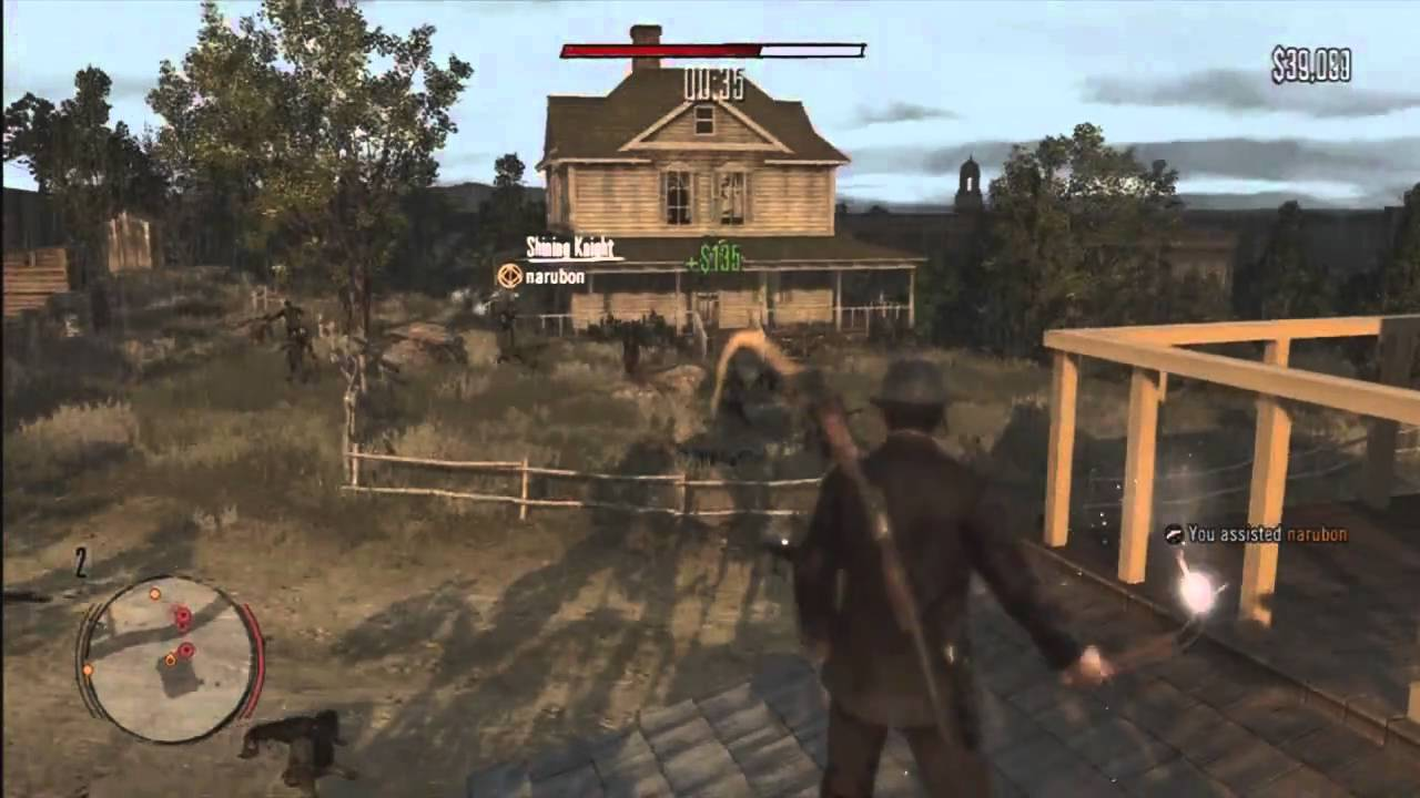 Red Dead Redemption Undead Nightmare Zombie Mode GAMEPLAY Part 2 YouTube