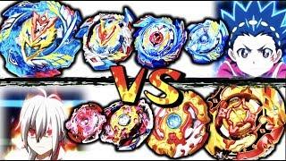 All Valkyries VS All Spriggans | Beyblade Burst Battle