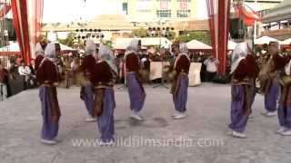 Indian students perform Turkish Folk Dance