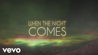 Jeff Lynne's ELO - When the Night Comes (Jeff Lynne's ELO - Lyric Video)