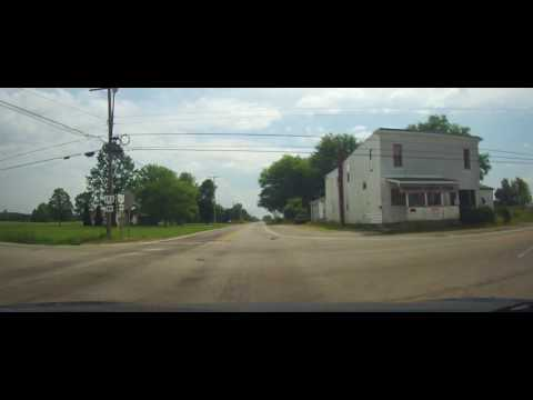 Driving on Ohio Route 167 in Rural Ashtabula County