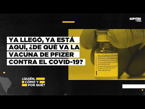 En YouTube: Ya llegó, ya está aquí. Todo lo que necesitas saber sobre la vacuna de Pfizer contra el COVID-19.