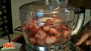 Foxy Strawberry Balsamic Vinaigrette