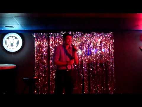 Dan karaoke of Rocket Man