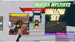 HALLOW SET GAMEPLAY Murder Mystery