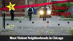 Top Ten Most Violent Neighborhoods in Chicago 9# 2017