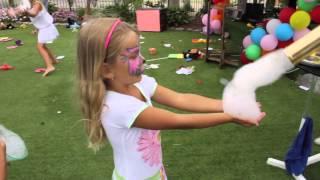 Шоу гигантских мыльных пузырей на Тенерифе