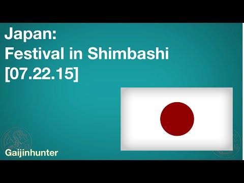 [07.22.15] Festival in Shimbashi