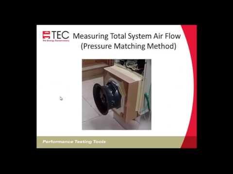 TrueFlow - Measuring Air Handler Flow Accurately