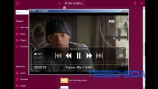tv de paga en PC con Rosadin TV portable(actualizable)+ lista remota m3u