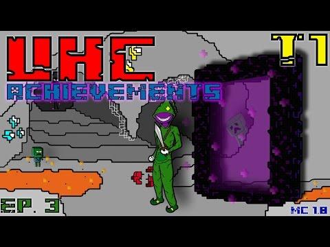 "UHC Achievements T1 Ep.3 ""Mineshaft Explotada""   Minecraft 1.8"