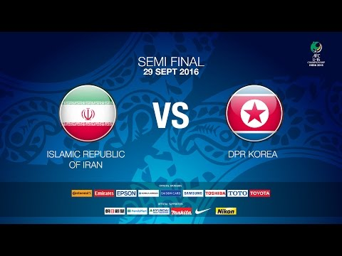 #AFCU16 M29 Islamic Republic of Iran vs DPR Korea (Semi final #2) - News Report