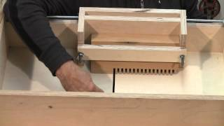 Box Joint Jig Setting And How They Work - A Woodworkweb.com Woodworking Video