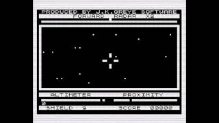 3D Defender - ZX81 gameplay